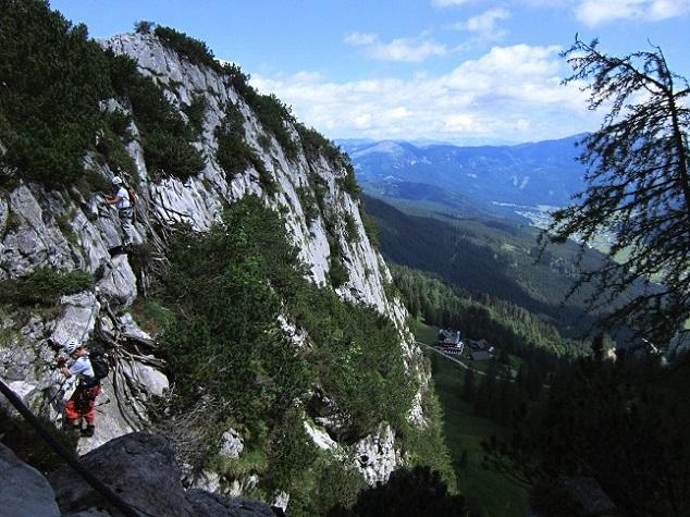 Foto: Andreas Koller / Klettersteigtour / Intersport Klettersteig Donnerkogel (2054m) / 12.07.2013 16:39:20