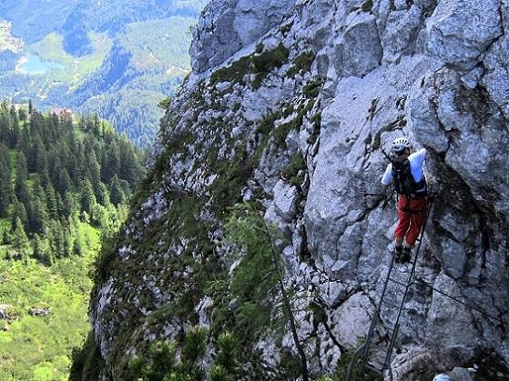Foto: Andreas Koller / Klettersteigtour / Intersport Klettersteig Donnerkogel (2054m) / 12.07.2013 16:39:01