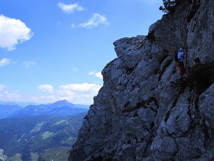 Foto: Andreas Koller / Klettersteigtour / Intersport Klettersteig Donnerkogel (2054m) / 12.07.2013 16:38:38