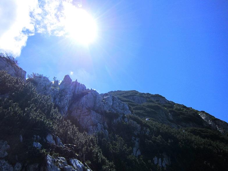 Foto: Andreas Koller / Klettersteigtour / Intersport Klettersteig Donnerkogel (2054m) / 12.07.2013 16:38:10