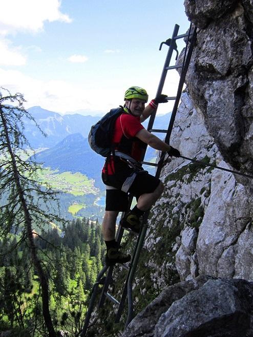 Foto: Andreas Koller / Klettersteigtour / Intersport Klettersteig Donnerkogel (2054m) / 12.07.2013 16:38:01