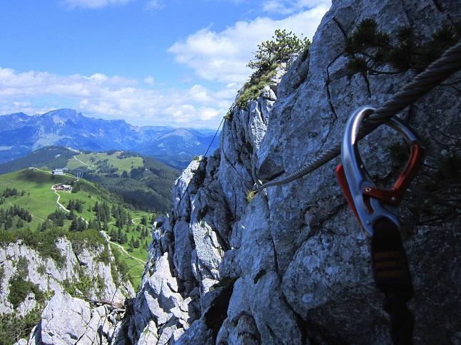 Foto: Andreas Koller / Klettersteigtour / Intersport Klettersteig Donnerkogel (2054m) / 12.07.2013 16:37:14
