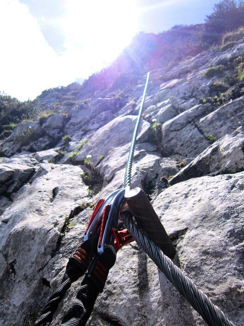 Foto: Andreas Koller / Klettersteigtour / Intersport Klettersteig Donnerkogel (2054m) / 12.07.2013 16:36:30