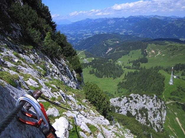 Foto: Andreas Koller / Klettersteigtour / Intersport Klettersteig Donnerkogel (2054m) / 12.07.2013 16:36:13