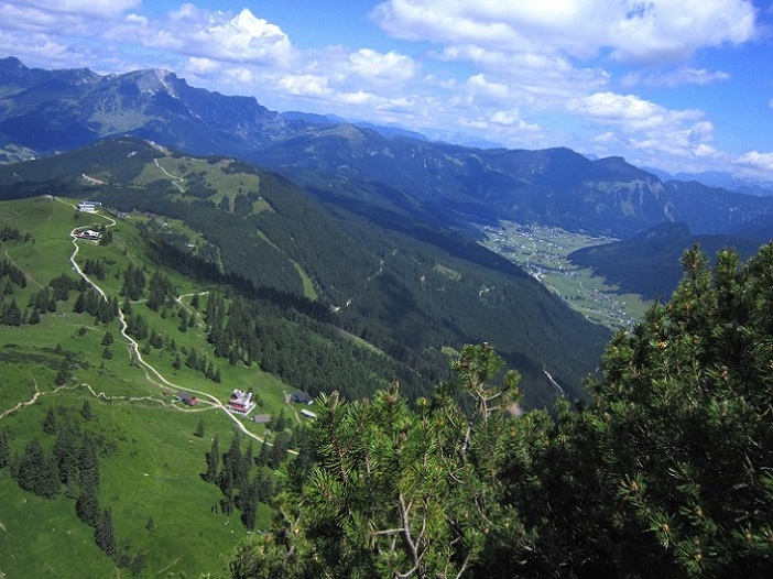 Foto: Andreas Koller / Klettersteigtour / Intersport Klettersteig Donnerkogel (2054m) / 12.07.2013 16:36:00