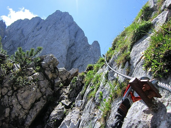 Foto: Andreas Koller / Klettersteigtour / Intersport Klettersteig Donnerkogel (2054m) / 12.07.2013 16:34:43