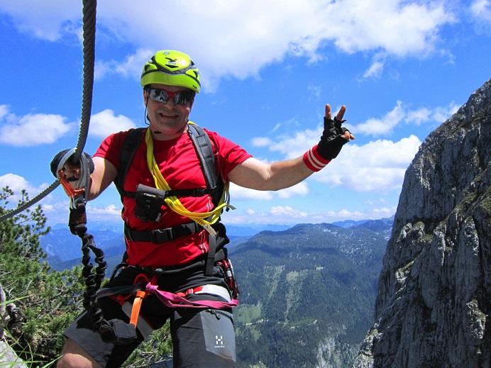 Foto: Andreas Koller / Klettersteigtour / Intersport Klettersteig Donnerkogel (2054m) / 12.07.2013 16:34:32