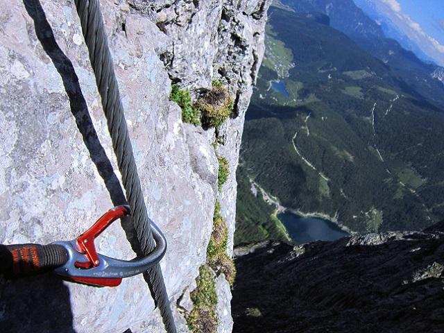 Foto: Andreas Koller / Klettersteigtour / Intersport Klettersteig Donnerkogel (2054m) / 12.07.2013 16:33:38