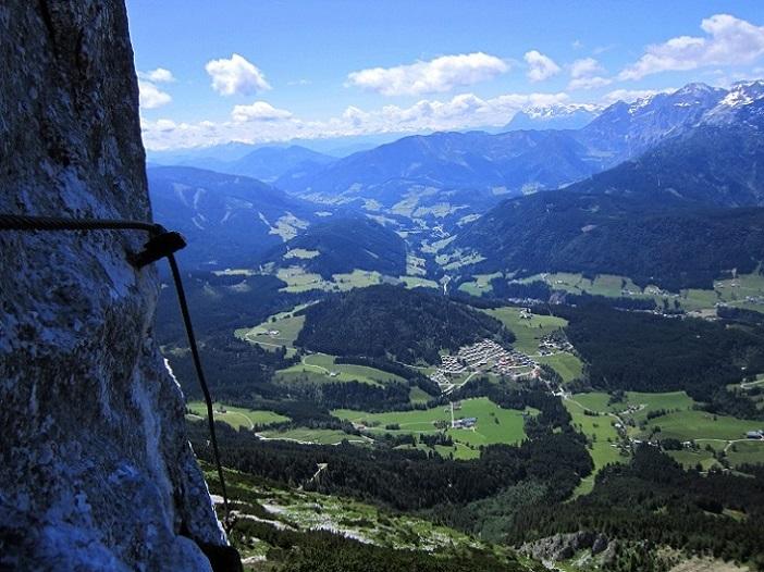 Foto: Andreas Koller / Klettersteigtour / Intersport Klettersteig Donnerkogel (2054m) / 12.07.2013 16:32:41