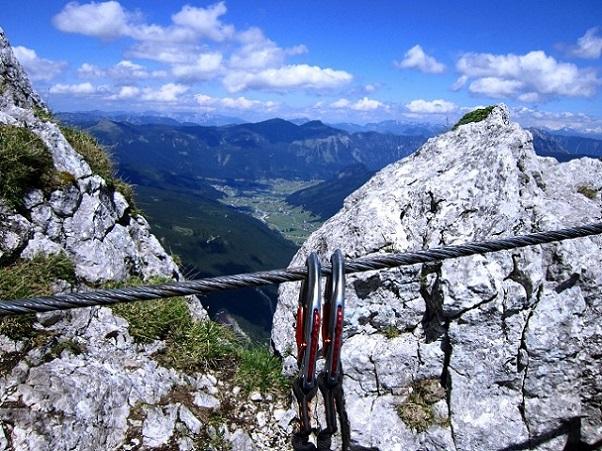 Foto: Andreas Koller / Klettersteigtour / Intersport Klettersteig Donnerkogel (2054m) / 12.07.2013 16:31:48