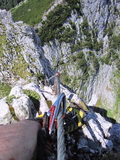 Foto: Andreas Koller / Klettersteigtour / Intersport Klettersteig Donnerkogel (2054m) / Donnerkogel N-Grat / 12.07.2013 16:31:34