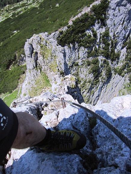 Foto: Andreas Koller / Klettersteigtour / Intersport Klettersteig Donnerkogel (2054m) / 12.07.2013 16:30:59