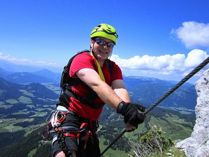 Foto: Andreas Koller / Klettersteigtour / Intersport Klettersteig Donnerkogel (2054m) / 12.07.2013 16:30:48