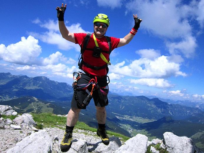 Foto: Andreas Koller / Klettersteigtour / Intersport Klettersteig Donnerkogel (2054m) / 12.07.2013 16:30:04