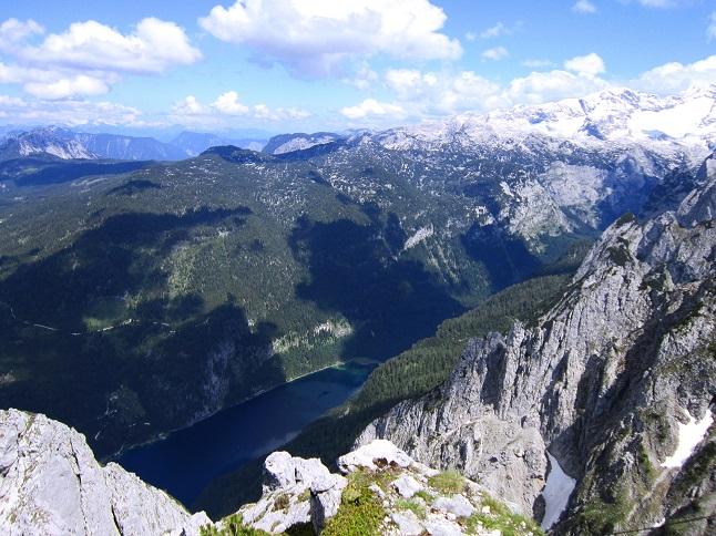 Foto: Andreas Koller / Klettersteigtour / Intersport Klettersteig Donnerkogel (2054m) / 12.07.2013 16:29:42