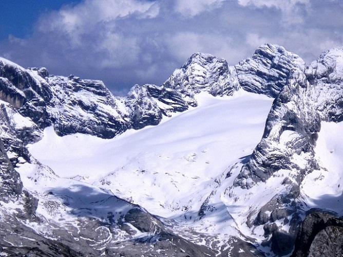 Foto: Andreas Koller / Klettersteigtour / Intersport Klettersteig Donnerkogel (2054m) / Dachstein (2996m) / 12.07.2013 16:28:51