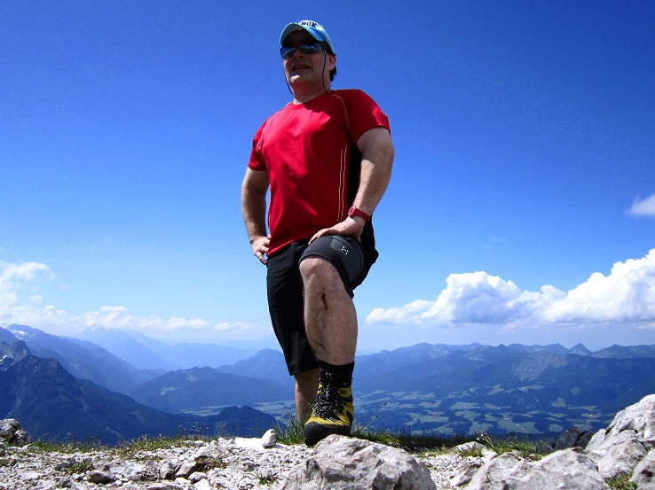 Foto: Andreas Koller / Klettersteigtour / Intersport Klettersteig Donnerkogel (2054m) / 12.07.2013 16:28:30