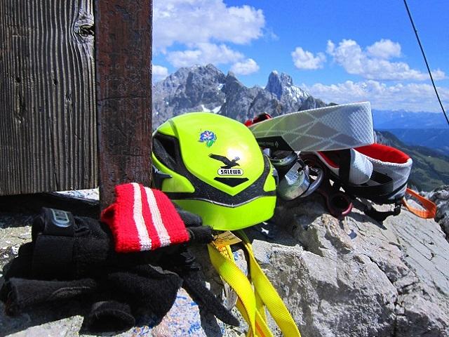 Foto: Andreas Koller / Klettersteigtour / Intersport Klettersteig Donnerkogel (2054m) / 12.07.2013 16:28:16