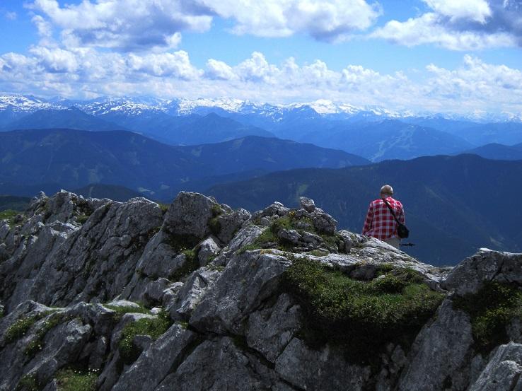 Foto: Andreas Koller / Klettersteigtour / Intersport Klettersteig Donnerkogel (2054m) / 12.07.2013 16:27:21