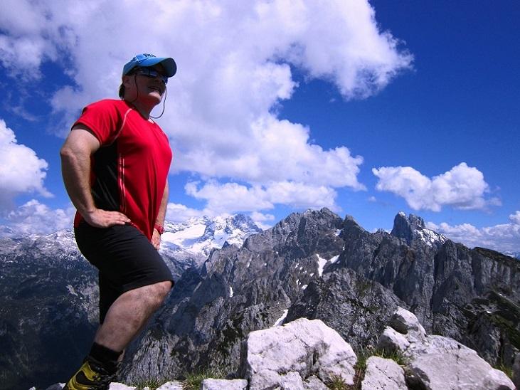 Foto: Andreas Koller / Klettersteigtour / Intersport Klettersteig Donnerkogel (2054m) / 12.07.2013 16:27:11