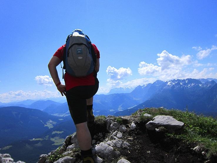 Foto: Andreas Koller / Klettersteigtour / Intersport Klettersteig Donnerkogel (2054m) / 12.07.2013 16:26:04