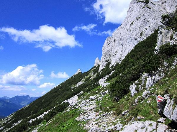 Foto: Andreas Koller / Klettersteigtour / Intersport Klettersteig Donnerkogel (2054m) / 12.07.2013 16:25:43