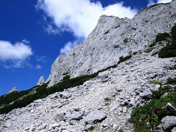 Foto: Andreas Koller / Klettersteigtour / Intersport Klettersteig Donnerkogel (2054m) / 12.07.2013 16:25:33