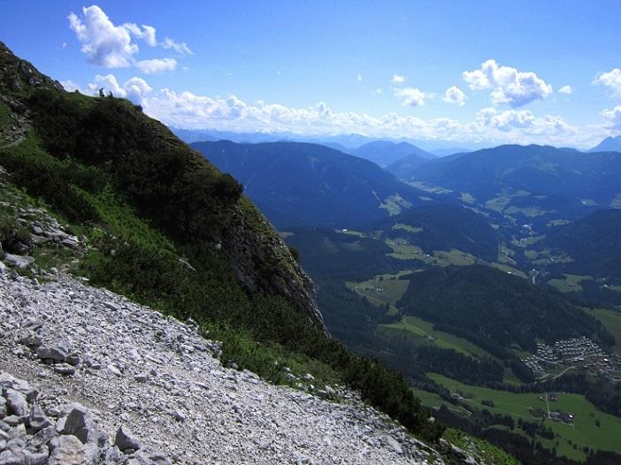 Foto: Andreas Koller / Klettersteigtour / Intersport Klettersteig Donnerkogel (2054m) / 12.07.2013 16:25:22