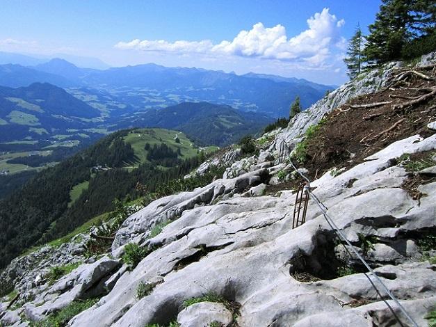 Foto: Andreas Koller / Klettersteigtour / Intersport Klettersteig Donnerkogel (2054m) / 12.07.2013 16:25:11