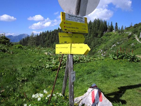 Foto: Andreas Koller / Klettersteigtour / Intersport Klettersteig Donnerkogel (2054m) / 12.07.2013 16:25:01