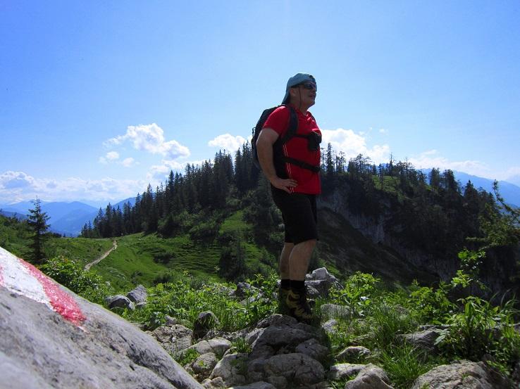 Foto: Andreas Koller / Klettersteigtour / Intersport Klettersteig Donnerkogel (2054m) / 12.07.2013 16:24:49