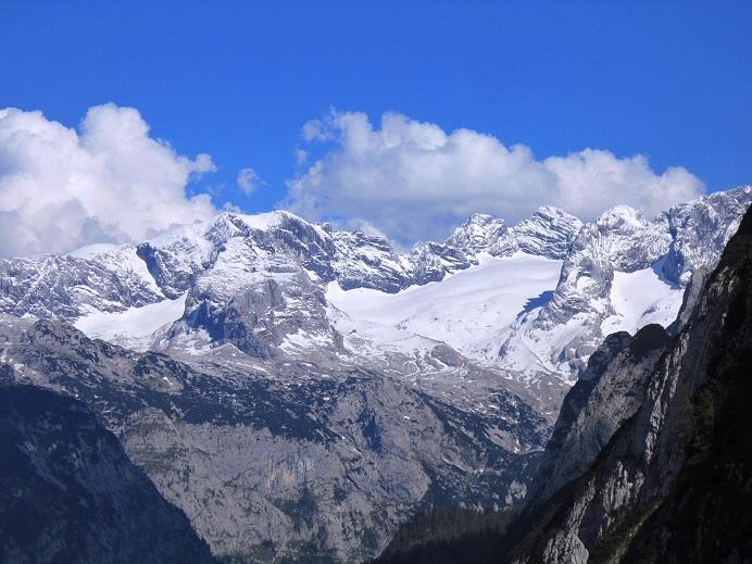 Foto: Andreas Koller / Klettersteigtour / Intersport Klettersteig Donnerkogel (2054m) / Dachstein (2996m) / 12.07.2013 16:24:16