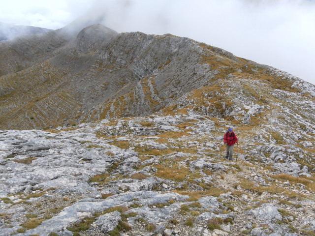 Foto: Wolfgang Lauschensky / Wandertour / Kleine Gaisl oder Croda Rossa Piccola von Pederü / Kammwanderung zur Seekofelhütte / 12.10.2013 13:38:17