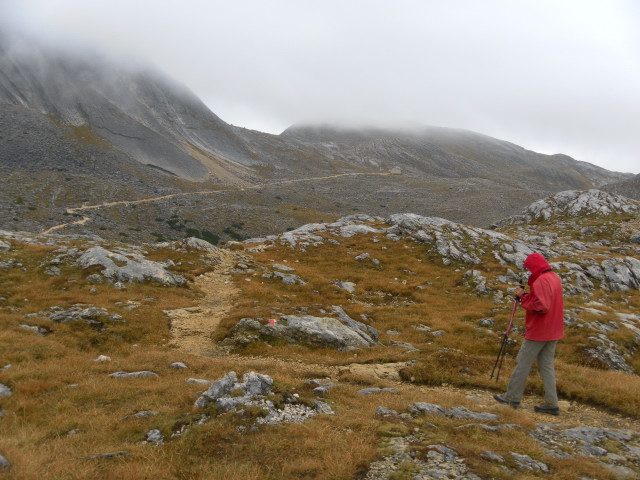 Foto: Wolfgang Lauschensky / Wandertour / Kleine Gaisl oder Croda Rossa Piccola von Pederü / Seekofelhütte / 12.10.2013 13:37:53