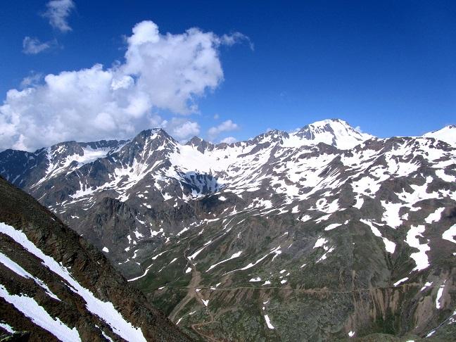 Foto: Andreas Koller / Klettersteigtour / Klettersteig Graue Wand (3202m) / Weißkugel (3739m) / 23.12.2013 03:02:46