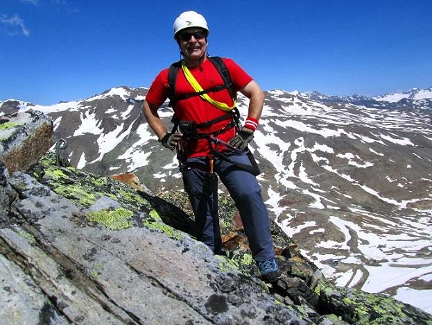 Foto: Andreas Koller / Klettersteigtour / Klettersteig Graue Wand (3202m) / 23.12.2013 03:02:19
