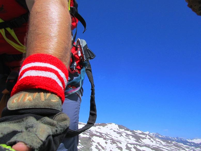 Foto: Andreas Koller / Klettersteigtour / Klettersteig Graue Wand (3202m) / 23.12.2013 03:01:58