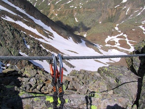 Foto: Andreas Koller / Klettersteigtour / Klettersteig Graue Wand (3202m) / 23.12.2013 03:01:35