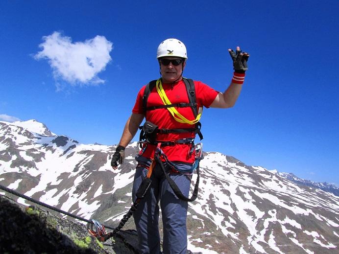 Foto: Andreas Koller / Klettersteigtour / Klettersteig Graue Wand (3202m) / 23.12.2013 03:01:29