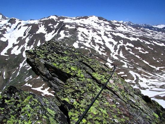 Foto: Andreas Koller / Klettersteigtour / Klettersteig Graue Wand (3202m) / 23.12.2013 03:01:04