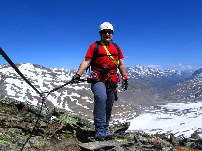 Foto: Andreas Koller / Klettersteigtour / Klettersteig Graue Wand (3202m) / 23.12.2013 03:00:56