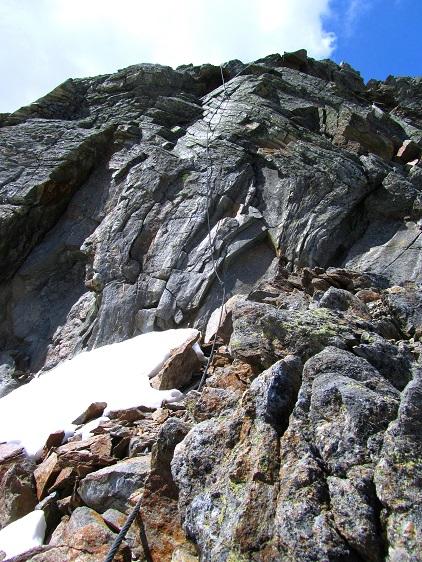 Foto: Andreas Koller / Klettersteigtour / Klettersteig Graue Wand (3202m) / 23.12.2013 03:00:27
