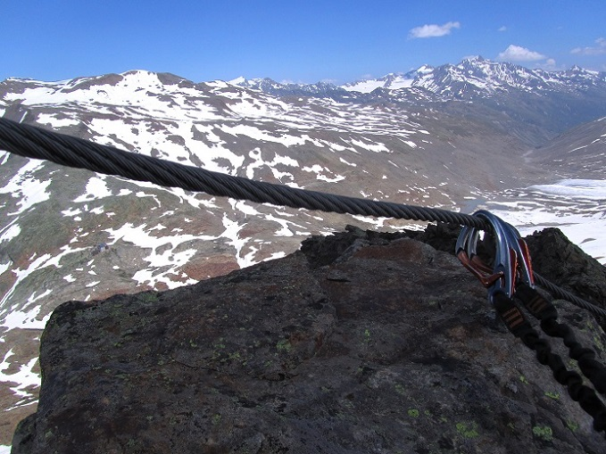 Foto: Andreas Koller / Klettersteigtour / Klettersteig Graue Wand (3202m) / 23.12.2013 02:59:47