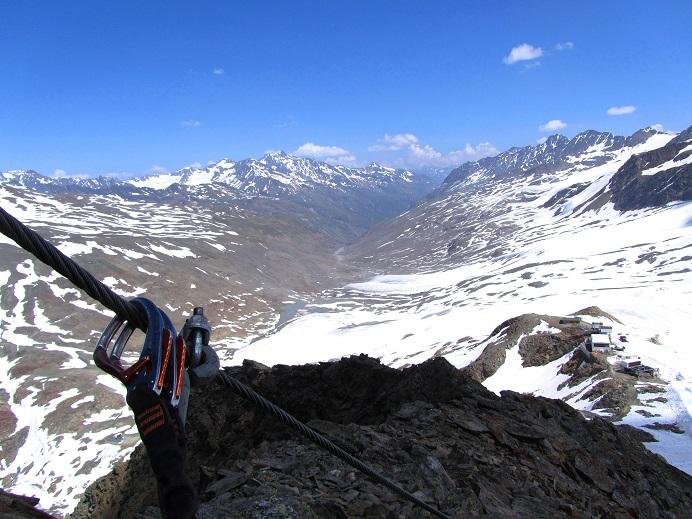 Foto: Andreas Koller / Klettersteigtour / Klettersteig Graue Wand (3202m) / 23.12.2013 02:59:40