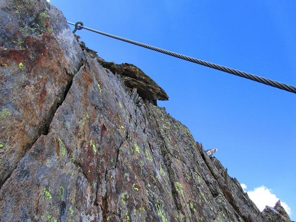 Foto: Andreas Koller / Klettersteigtour / Klettersteig Graue Wand (3202m) / 23.12.2013 02:59:31