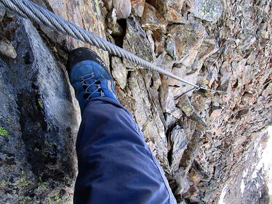 Foto: Andreas Koller / Klettersteigtour / Klettersteig Graue Wand (3202m) / 23.12.2013 02:59:22