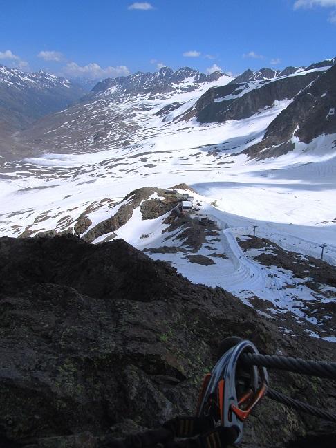 Foto: Andreas Koller / Klettersteigtour / Klettersteig Graue Wand (3202m) / 23.12.2013 02:58:55