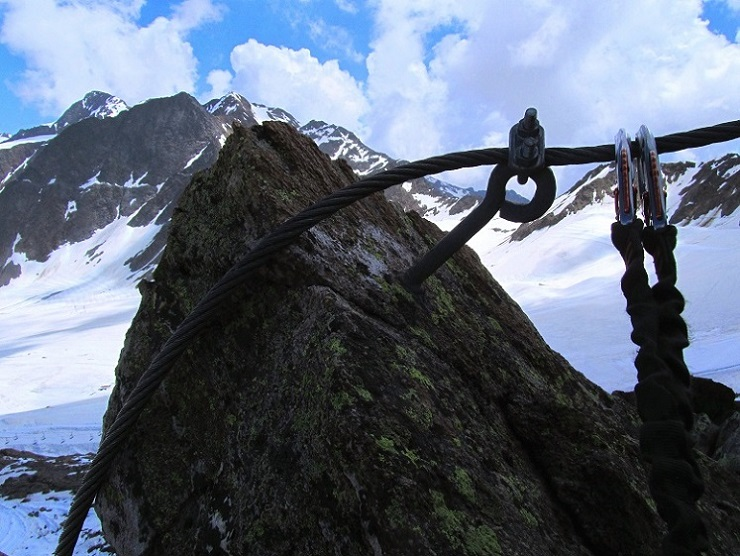 Foto: Andreas Koller / Klettersteigtour / Klettersteig Graue Wand (3202m) / 23.12.2013 02:58:47