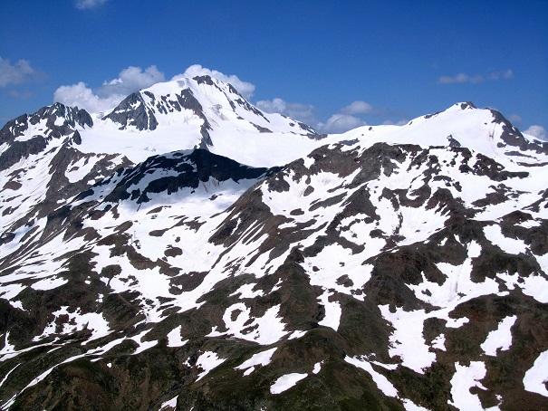 Foto: Andreas Koller / Klettersteigtour / Klettersteig Graue Wand (3202m) / Weißkugel (3739m) und Langtauferer Spitze (3528m) / 23.12.2013 02:58:39