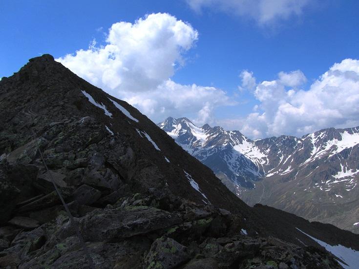 Foto: Andreas Koller / Klettersteigtour / Klettersteig Graue Wand (3202m) / 23.12.2013 02:57:24